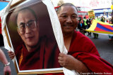 Demonstration against Chinese occupation of Tibet