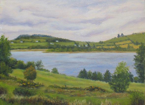 Early Autumn Blessington Lake, Ballyknocken