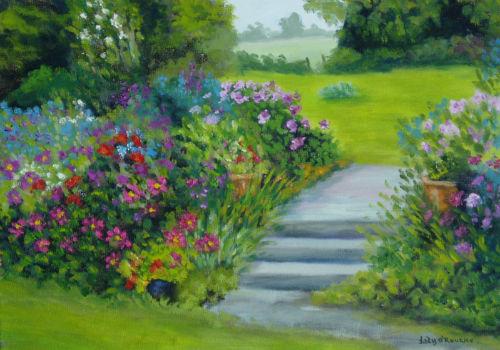 Garden at Borris House, Carlow