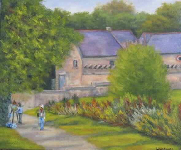 Plein Air Day Tintern Abbey, Wexford