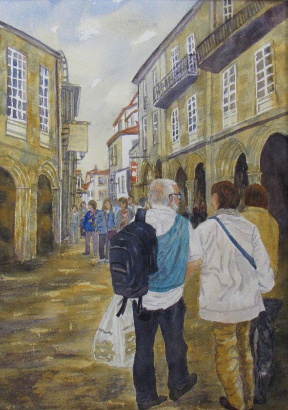 Holiday in Santiago de Compostela
