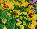 Pansies in a Floral Dance