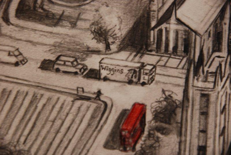 """Bradley Wiggins detail in """"London 2012"""""""