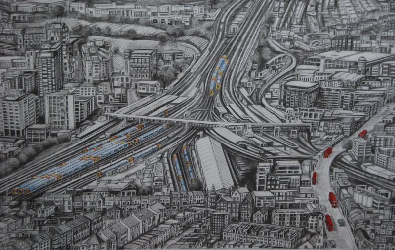 """Clapham Junction 2018"" close up"