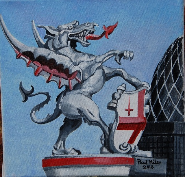 City of London Dragon 2018