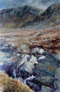 Afon Eigiau and Pen Llithrig y Wrach