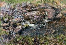 Afon Gyrych boulders