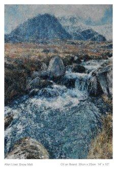 Afon Lloer Snow Melt