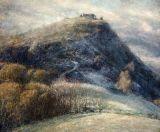 Castell Dinas Bran: Morning Frost.