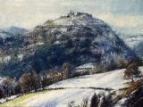 Castell Dinas Bran: Early Snow