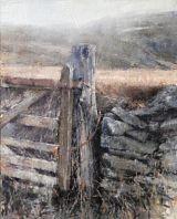 Gatepost Below Moel Eilio