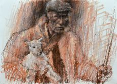 shepherd and lamb 1
