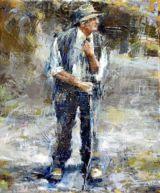 Shepherd standing: study 3