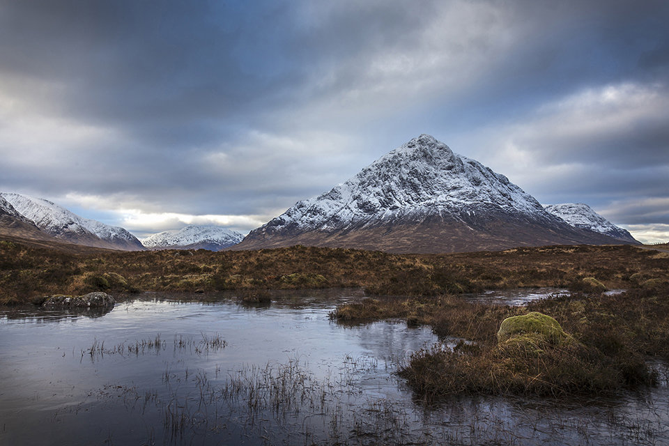 Looking towards the Buachaille