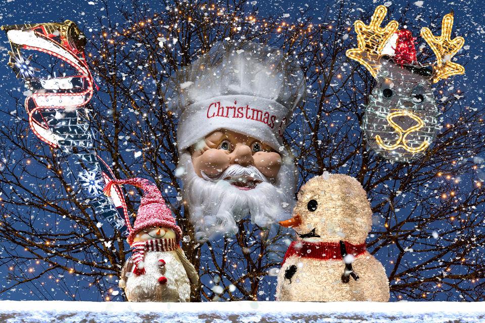 December - Christmas Lights