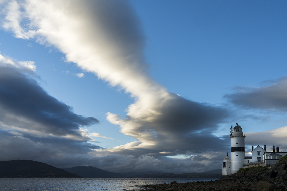 Clouds over the Cloch