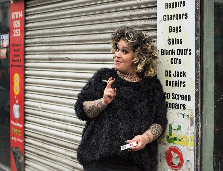 Debi, tattoo artist
