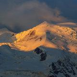 First Light on Mt Blanc