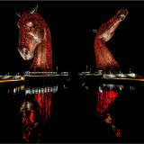 Kelpies Reflection