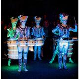 Neon Drummers