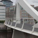 Squiggly Bridge in Glasgow