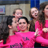 Pink Septette at the Fringe, Edinburgh