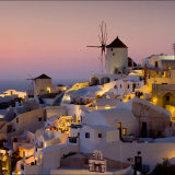 Twilight Santorini