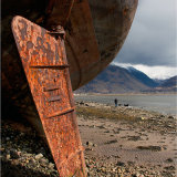 Beached Trawler, Corpach