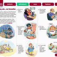 HSE express magazine cartoons