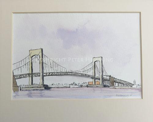 Throgs Neck Bridge, New York