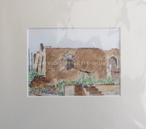 Ruined Church, Spillia, Kefalonia