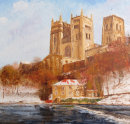 Cathedral In The Snow, Durham