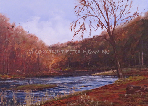 Autumn Light, River-Wear, Durham