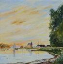 Argentueil after Monet