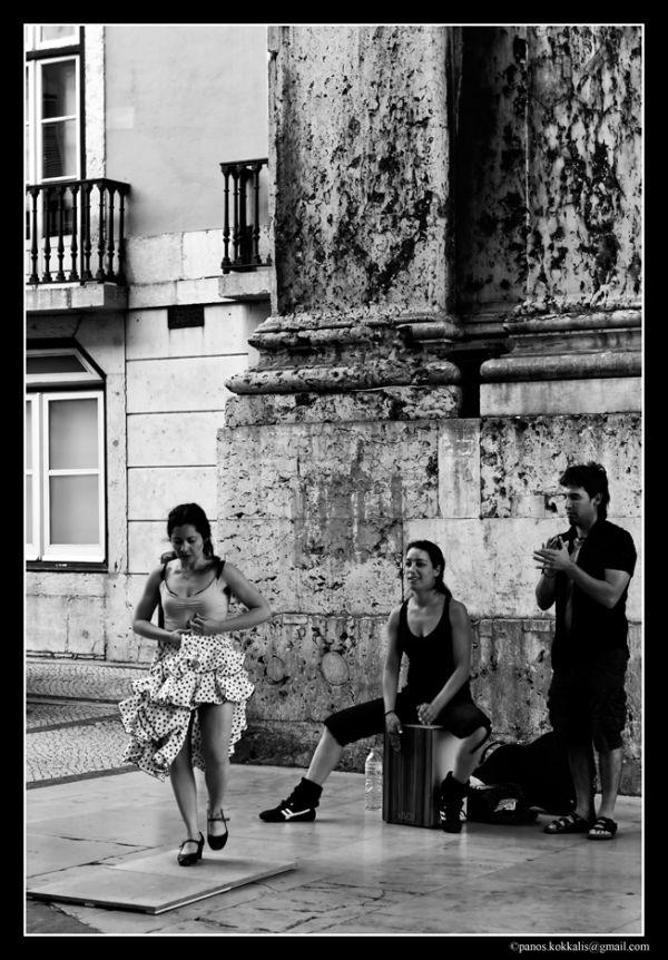Danser at Rua Augusta