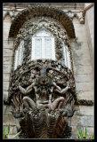 Sintra - Neptune sculpture at Palácio da Pena