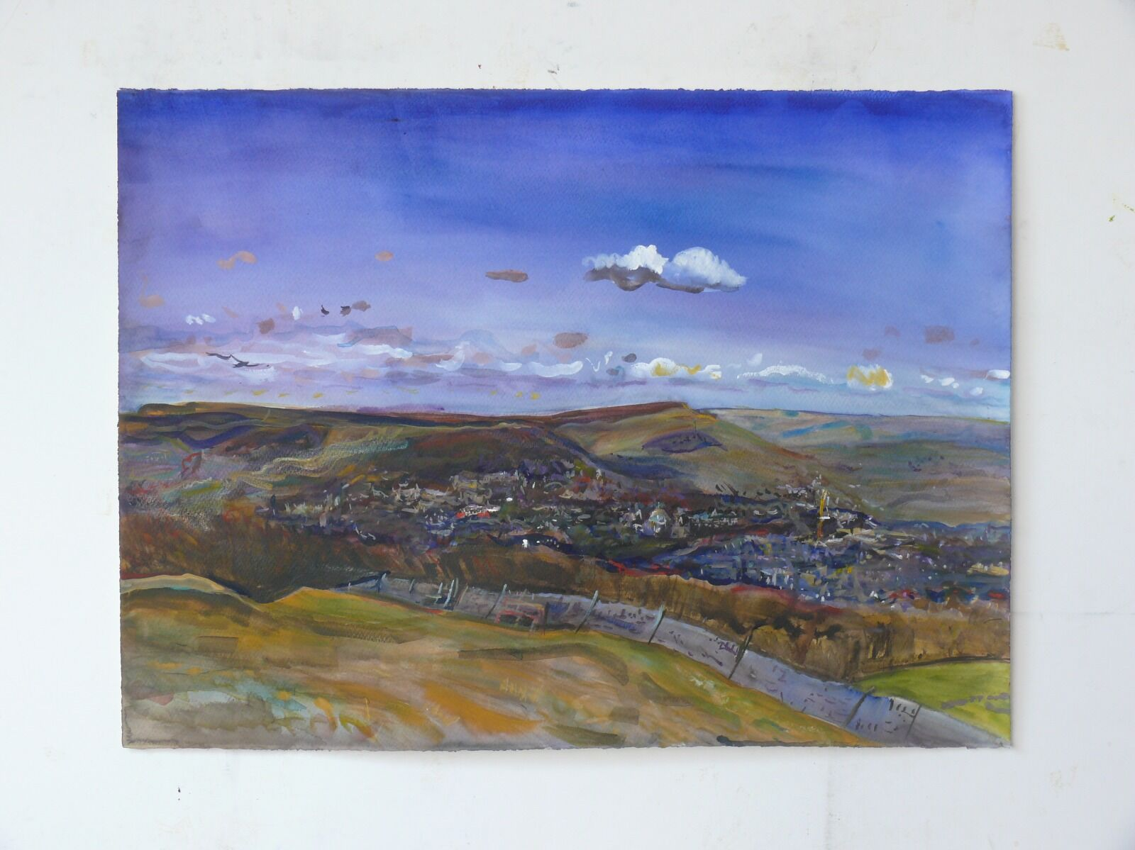 currently on show in Buxton Spa Art Prize