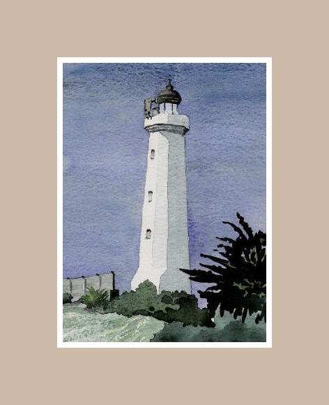 Lighthouse, La Tranche sur Mer, Vendee, France