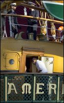 Crew Members from the Italian Tall Ship 'AMERICO VESPUCCI