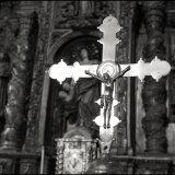 Crucifix in the Church of Santa Maria - Melide