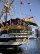 Detail from Tall Ship 'AMERICO VESPUCCI' Dublin, Aug. 2012