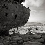 Inis Oirr Sept. 2013 - The Plassey Shipwreck and Lighthouse