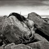 Inis Oirr  Sept 2013  Rocks and fishing net 1 lr