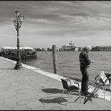 Local fisherman, Venice, Italy. April 2016