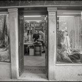 Fabric shop, Venice, Italy. April 2016