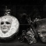 Venetian masks, Venice, Italy. April 2106