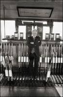 Michael Meegan Signalman, Mosney Signal Cabin 1994