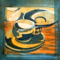Denby 1948. Watercolour