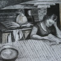 Reading At The Kitchen Table