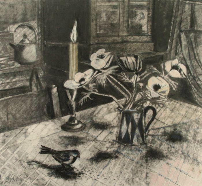 Wild Bird By Candlelight